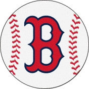 Boston Red Sox Baseball floor mat - Sports Nut Emporium