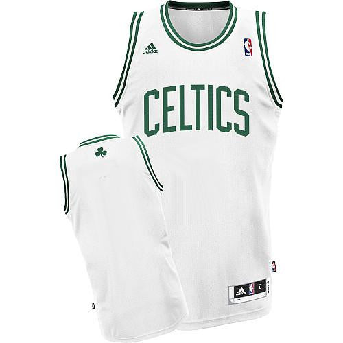 Boston  Celtics Reveloutin 30  Blank White Stitched NBA Jersey - Sports Nut Emporium