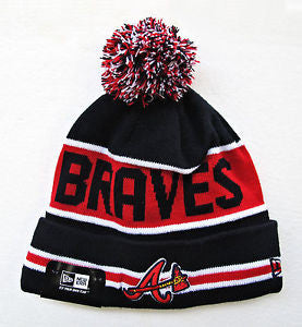 Atlanta Braves Knit Beanie - Sports Nut Emporium