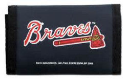 Atlanta Braves nylon wallet - Sports Nut Emporium