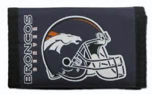 Denver Broncos nylon wallet - Sports Nut Emporium
