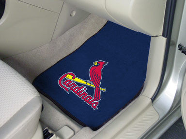 St Louis Cardinals carpet car mat - Sports Nut Emporium