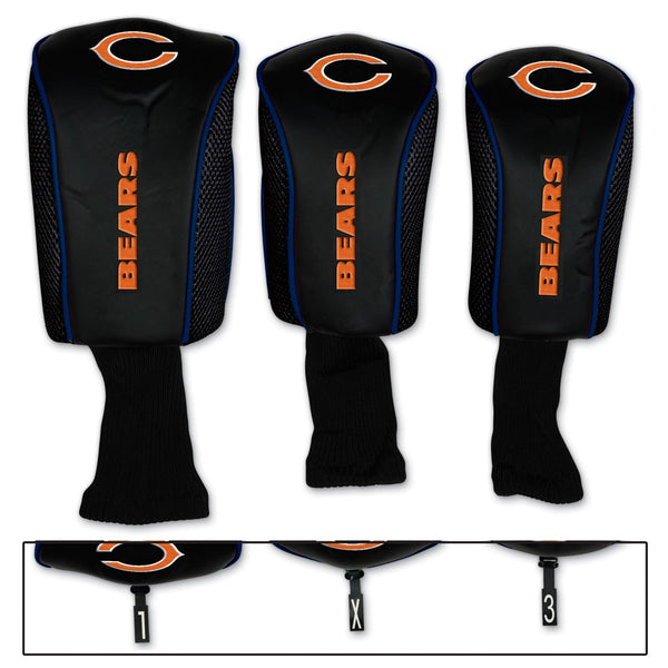 Chicago Bears Golf Headset Covers - Sports Nut Emporium