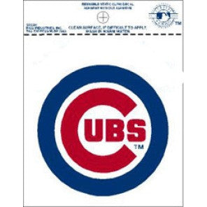 Chicago Cubs static cling - Sports Nut Emporium