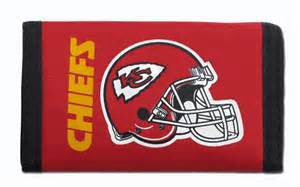 Kansas City Chiefs nylon wallet - Sports Nut Emporium