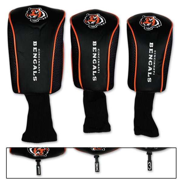 Cincinnati Bengals Golf Headset Covers - Sports Nut Emporium
