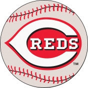Cincinnati Reds baseball floor mat - Sports Nut Emporium