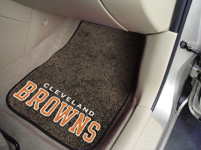 Cleveland Browns carpet car mat - Sports Nut Emporium