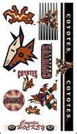 Phoenix Coyotes temporary tattoos - Sports Nut Emporium