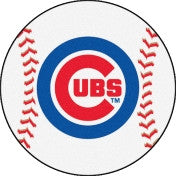Chicago Cubs Baseball Floor Mat - Sports Nut Emporium
