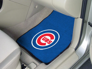 Chicago Cubs carpet car mat - Sports Nut Emporium