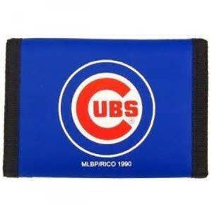 Chicago Cubs nylon wallet - Sports Nut Emporium