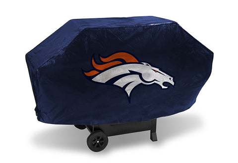 Denver Broncos Deluxe Barbaque Grill Cover - Sports Nut Emporium