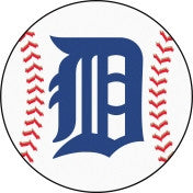 Detroit Tigers baseball floor mat - Sports Nut Emporium