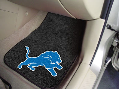 Detroit Lions caprtet car mat - Sports Nut Emporium