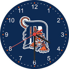 Detroit Tigers wall clock - Sports Nut Emporium
