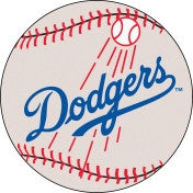 Los Angeles Dodgers baseball floor mat - Sports Nut Emporium