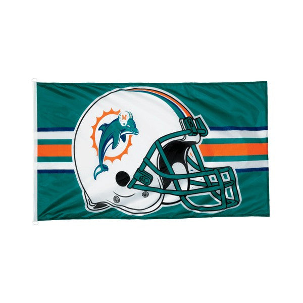 Miami Dolphins 3x5 team banner flag - Sports Nut Emporium