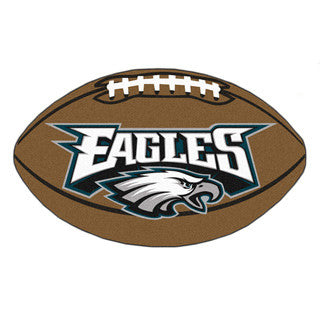 Philadelphia Eagles football shaped mat - Sports Nut Emporium