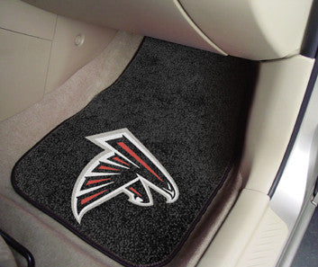 Atlanta Falcons carpet car mat - Sports Nut Emporium
