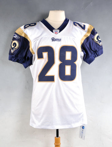 Marshall Faulk home and away jersey - Sports Nut Emporium