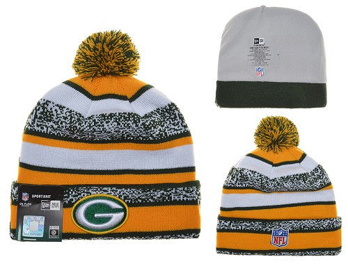 Green Bay Packers Knit Winter Beanie - Sports Nut Emporium