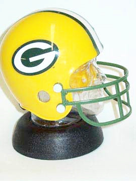 Green Bay Packers Helmet bank - Sports Nut Emporium
