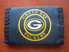 Green Bay Packers nylon wallet - Sports Nut Emporium