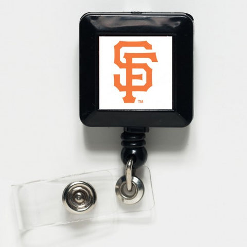 San Francisco Giants Retractable Badge / ID  Holder - Sports Nut Emporium