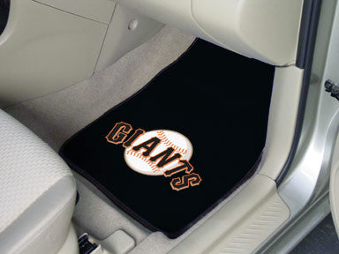 San Fransisco Giants carpet car mat - Sports Nut Emporium