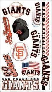 San Fransisco Giants temporary tattoos - Sports Nut Emporium