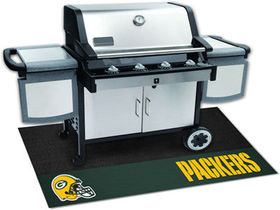Green Bay Packers Barbeque Grill Mat - Sports Nut Emporium