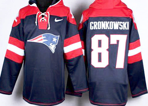 Rob Gronkowsi  New England Patriots  Pullover Hoodie - Sports Nut Emporium
