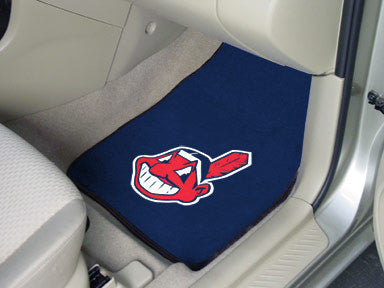 Cleveland Indians carpet car mat - Sports Nut Emporium