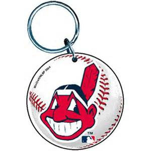 Cleveland Indians premium acrylic key ring - Sports Nut Emporium