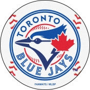 Toronto Blue Jays baseball floor mat - Sports Nut Emporium