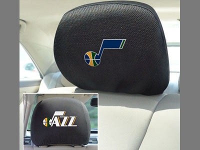 Utah Jazz head rest cover - Sports Nut Emporium