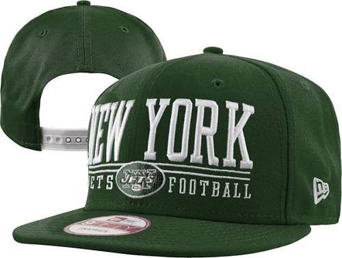 New York Jets Stitched New Era 9 FIFTY Snapback Hats 024 - Sports Nut Emporium
