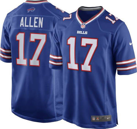 Buffalo Bills Josh Allen Mens Royal Blue Game Jersey