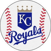"Kansas City Royals 27"" Baseball  Floor Mat."