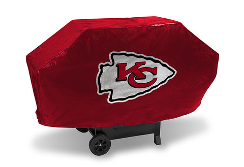 Kansas City Chiefs Deluxe Barbaque Grill Cover - Sports Nut Emporium