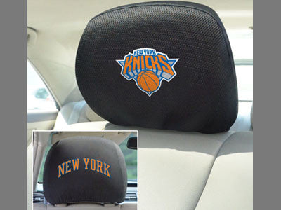 New York Knicks head rest cover - Sports Nut Emporium