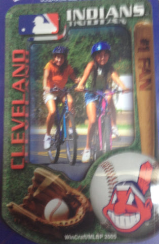 Cleveland Indians Photo magnetic picture frame - Sports Nut Emporium