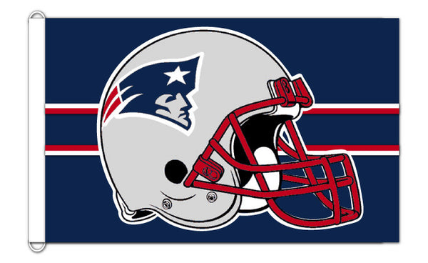 New England Patriots 3'x5'  team banner flag - Sports Nut Emporium