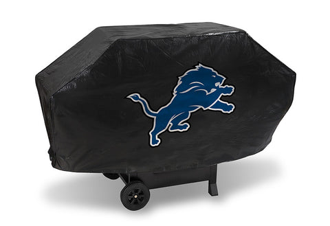 Detroit Lions Deluxe Barbaque Grill Cover - Sports Nut Emporium