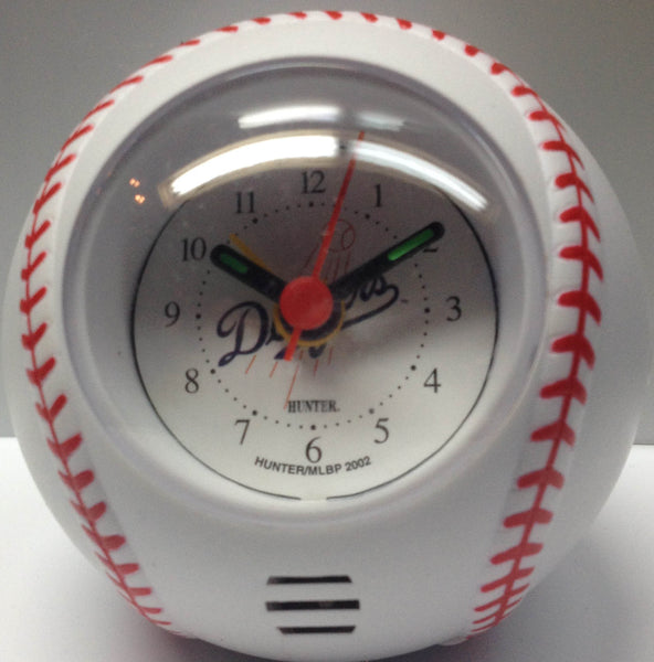 Los Angeles Dodgers Travel Alarm Clock - Sports Nut Emporium