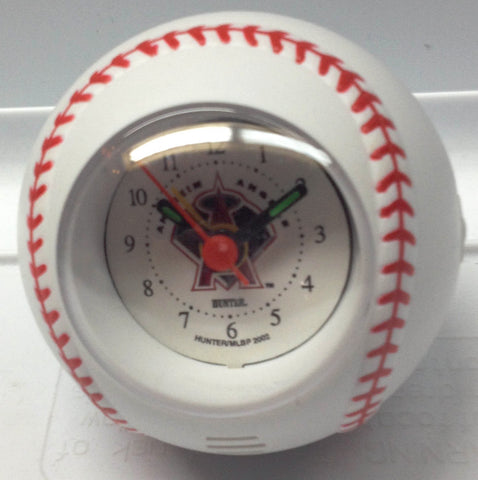 Los Angeles Angels Baseball Travel Alarm Clock - Sports Nut Emporium