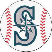 Seattle Mariners  baseball floor mat - Sports Nut Emporium