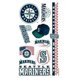 Seattle Mariners temporary tattoos - Sports Nut Emporium