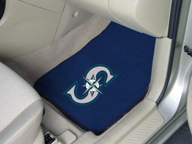 Seattle Mariners carpet car mat - Sports Nut Emporium